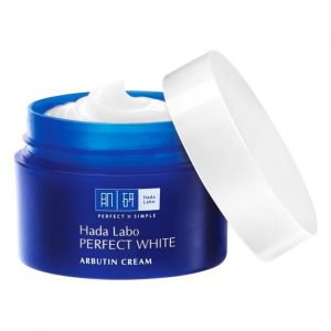 kem dưỡng da hada labo perfect white arbutin cream 50g