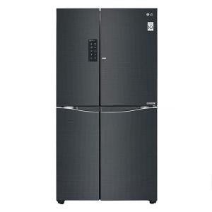 tủ lạnh side by side cao cấp inverter lg gr-r247lgb 618 lít
