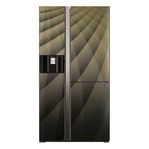 tủ lạnh side by side inverter hitachi r-m700agpgv4x 584 lít