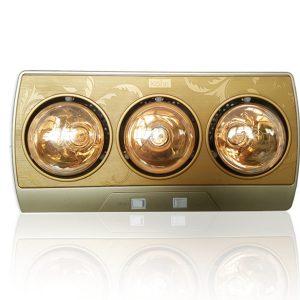 đèn sưởi nhà tắm 3 bóng braun kohn kn03g