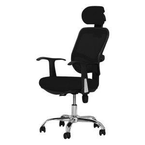 ghế văn phòng chân xoay nghiêng ngả bg h1