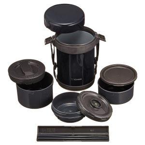 hộp cơm giữ nhiệt zojirushi zocm-sl-gg18-bd 1.3 lít