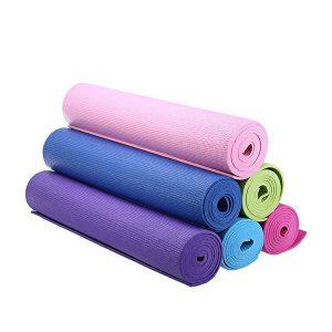 thảm tập yoga bằng chất liệu pvc