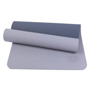 thảm tập yoga tpe 2 lớp zera-6mm-2l-xam 6mm
