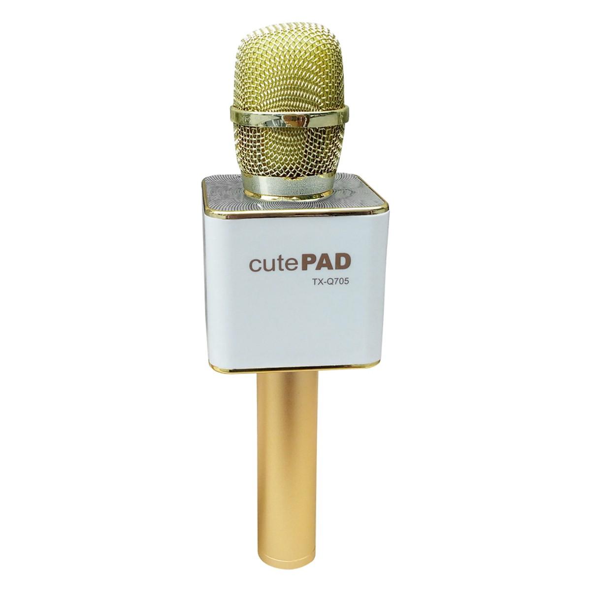 micro karaoke kem loa bluetooth cutepad tx q705