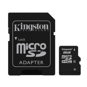 thẻ nhớ cao cấp micro sd kingston 8gb sdhc class 4