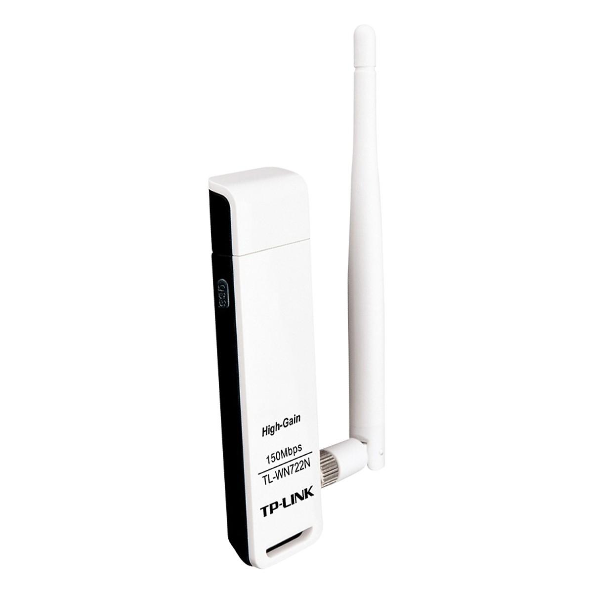 usb wifi tp link tl wn722n high gain toc do 150mbps