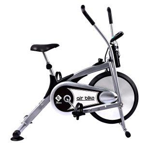 xe đạp tập thể dục air bike bg 8701 – xám