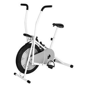 xe đạp tập thể dục air bike bg 8702 – trắng