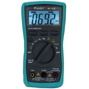 đồng hồ vạn năng điện tử proskit mt-1232