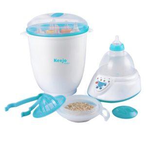 máy tiệt trùng bình sữa giá rẻ cầm tay kenjo kj-06n