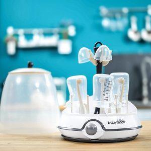 kiểm tra thời gian vô trùng trên máy tiệt trùng bình sữa