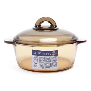 nồi thủy tinh giá rẻ luminarc amberline c6317 1l