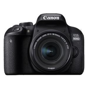 máy ảnh dslr canon 800d + lens 18-55mm is