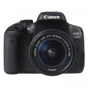 máy ảnh dslr có wifi canon 750d 18-55 is stm