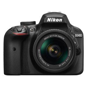 máy ảnh dslr nikon giá rẻ d3400 kit 18-55 vr