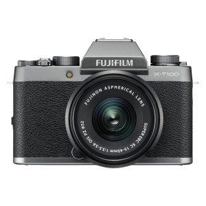 máy ảnh mirrorless fujifilm x-t100 + lens 15-45mm