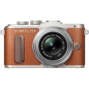máy ảnh mirrorless olympus e-pl8 + kit 14-42mm