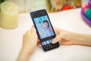kiểm tra chức năng chụp ảnh điện thoại dưới 2 triệu