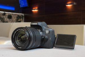 Kiểm tra cảm biến và ống kính máy ảnh tầm trung